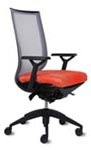 Aria collection ergonomic office chairs