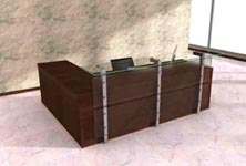 arkiva modern reception desk