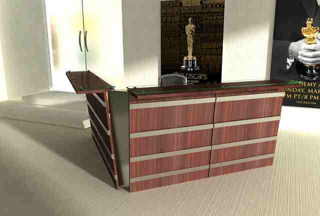 quadro reception desk