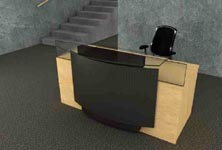 citadel modern reception desk