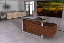 class-c modern reception desk
