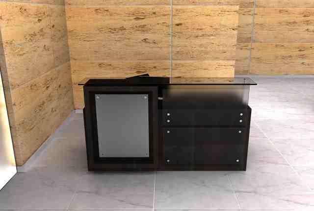 concepto reception desk