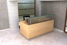 factiva modern reception desk