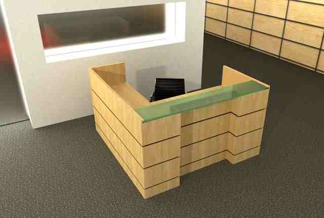 garrison reception desk