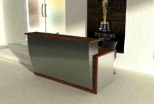 profil modern reception desk