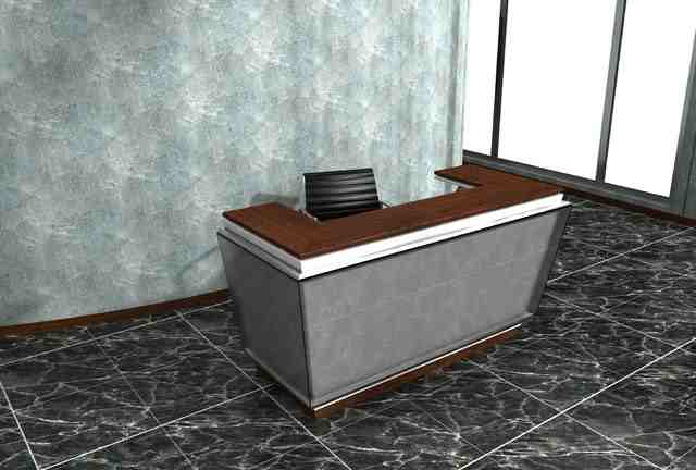 quadro reception desk
