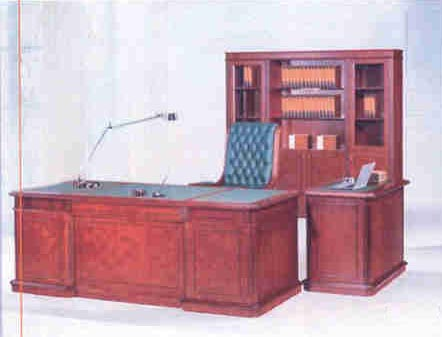 cardinal traditional desk , return and wall unit
