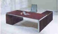 colby veneer top modern executive desk