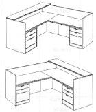 "Reception ""L"" Desk"