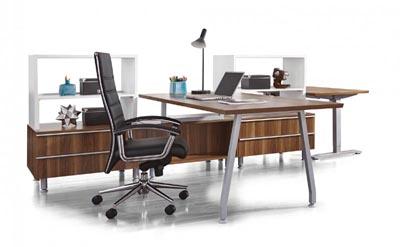 Inigo collection executive desk