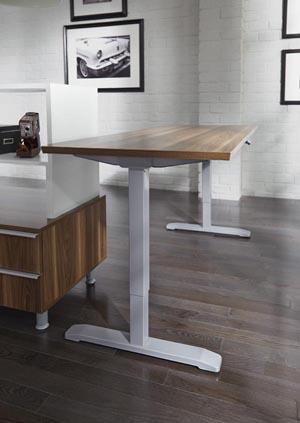 Inigo series height adjustable table