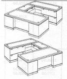 """Lateral """"U"""" Desk"""