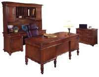 Antigua collection home office desk