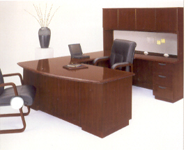 Eclipse transitional home office desk
