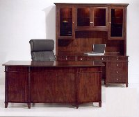 Fifth Avenue contemporary style discount office desks