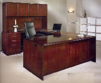 Summit Cope home office desk veneer furniture
