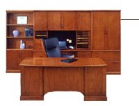 Belmont transitional veneer home executive office furniture