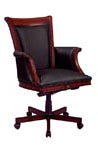 Del Mar Traditional wood arm series chairs