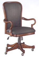 gooseneck arm desk chair