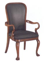 gooseneck arm guest chair