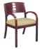 oval back guest chair