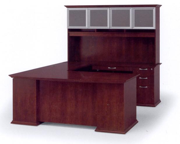 U desk configuration