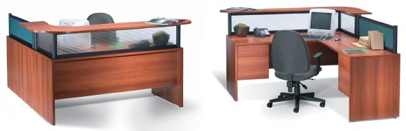 Divide Desk Mount Panel System For Adaptabilities And