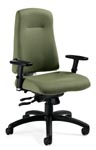 Indulge series office chairs