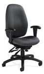 Malaga series ergonomic chairs from Global