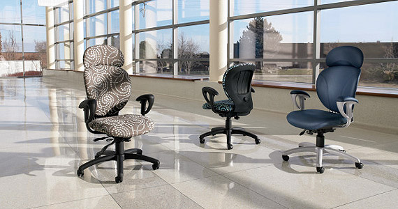 global total office azeo series ergonomic office seating designed on
