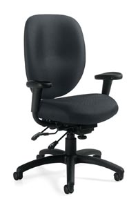global multi function chair with arms