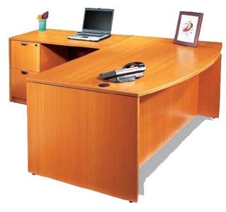 """""""L"""" executice desk"""