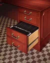 bedford file drawer detail