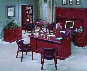 Bedford traditional suite of office furniture