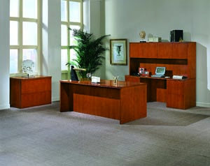 forte executive desk credenza hutch lateral suite