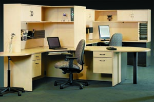 hyperwork u desk l desk workstation