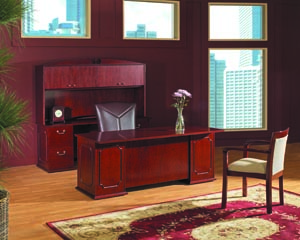 inverness executive desk credenza hutch suite