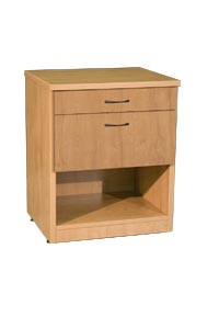 praxis healthcare drawer end table