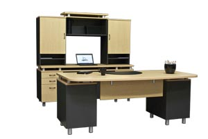 stratus executive modern office furniture suite