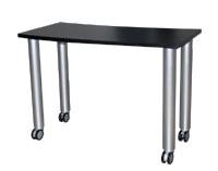 modern mobile table desk