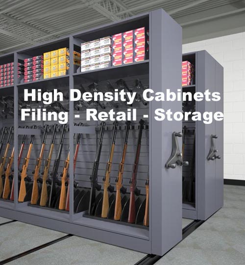 Using high density storage for retailing and storage