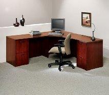Allegiance corner computer desk