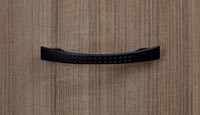 Canvas Buckle Black Pull