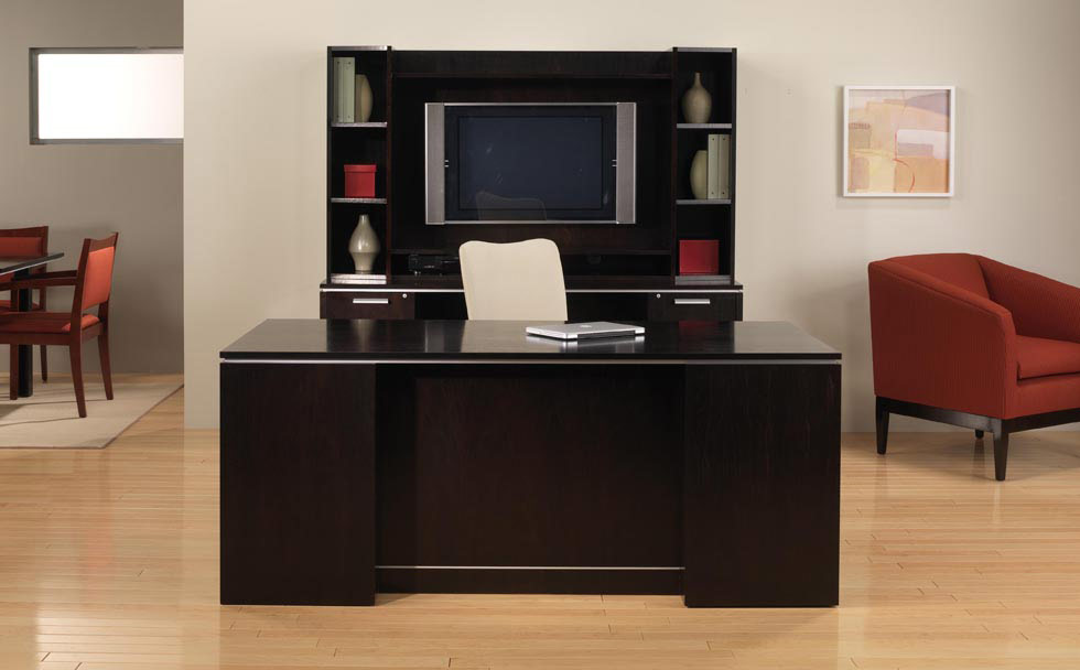 corporate office desk. Beautiful Contemporary Furnished Office Suite Consisting Of Executive Desk, Kneehole Computer Credenza, Storage Multi Corporate Desk R