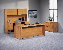 Lakeport home office desk