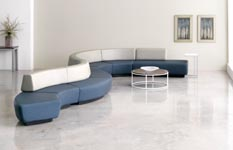 Carreta curve lounge seating