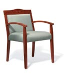 Klarete wood frame side chairs