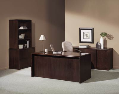 Office Doctor\'s Indiana Desk Impel Office Furniture Series