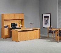 Desk Credenza Set