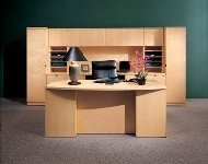 maple executive discount office furniture suite